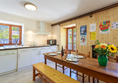 Le cuisine du Gîte  - l'Herbe Tendre