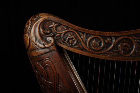 Musique celte harpe
